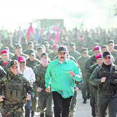 Erbitterter Machtkampf in Venezuela