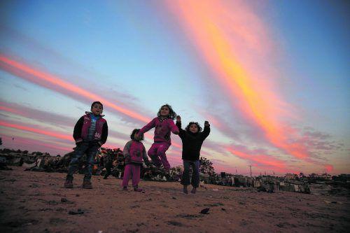 Fried hat es sich zum Ziel gesetzt, den schwierigen Alltag der Kinder in Gaza zu verbessern. AFP