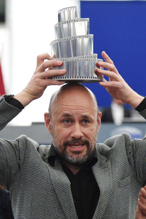 """Für """"Gegen den Strom"""" hat Benedikt Erlingsson den Lux-Preis des EU-Parlaments erhalten. AFP"""
