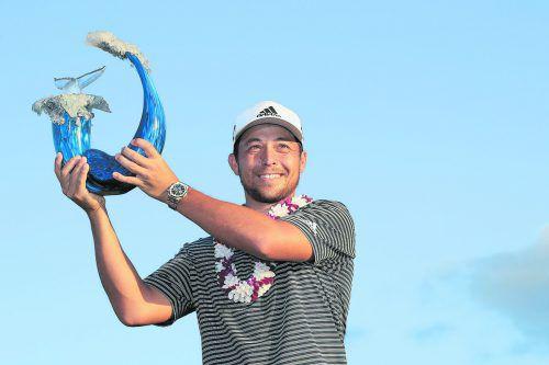 Golfprofi Xander Schauffele setzte sich beim Turnier der Champions durch.apa