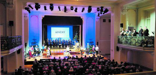Großen Beifall gab es bei den Aufführungen der Feldkircher Liedertafel vor Weihnachten. Feldkircher Liedertafel