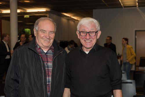 Gut gelaunt: Hans Hammerer (l.) und Josef Wehinger.