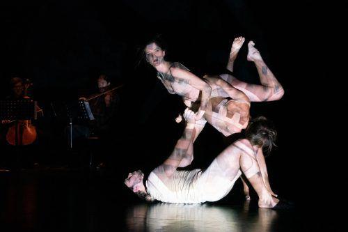 """""""Hölle, Hölle, Hölle"""" von Silvia Salzmann und Ben Pascal wurde am Freitagabend im Theater Kosmos in Bregenz aufgeführt. AgenturRosa/Sarah Mistura"""