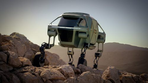 Hyundai überrascht in Las Vegas mit der Idee eines Rettungsfahrzeugs namens Elevate.Werk, SP-X