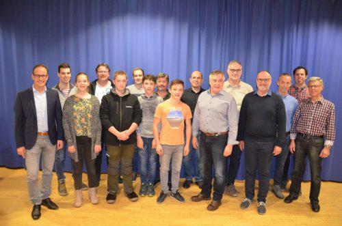 Im Vereinsheim hielt die Bürgermusik Hohenems ihre 198. Jahreshauptversammlung ab.bet