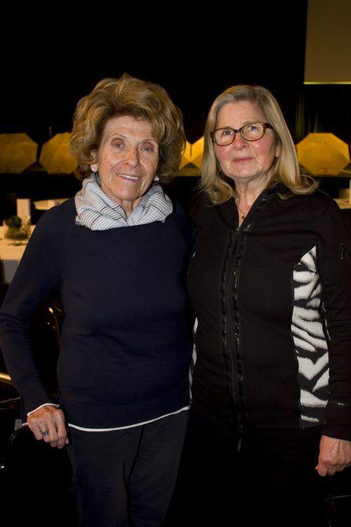 Inge Moser (l.) und Anna Degen genossen den Nachmittag.