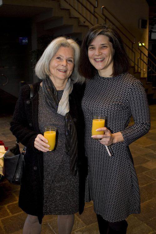 Irmi und Katharina Luger.