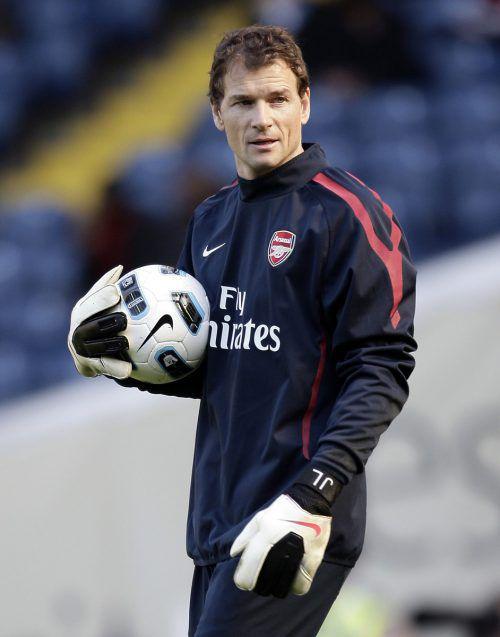 Jens Lehmann war bereits bei Arsenal Assistent von Arsene Wenger. Gepa
