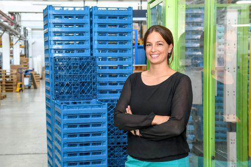 Katharina Rhomberg leitet die Geschicke im Sulner Familienunternehmen Fries Kunststofftechnik. VN/Lerch