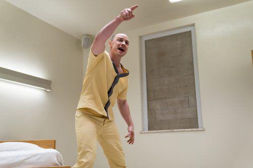 Kevin (James McAvoy) leidet an einer multiplen Persönlichkeitsstörung.ap