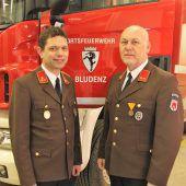 Viele Feuerwehrjubilare in Bludenz