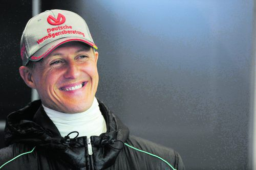 Lebt abgeschirmt: Ex-Formel-1-Champion Michael Schumacher. ap