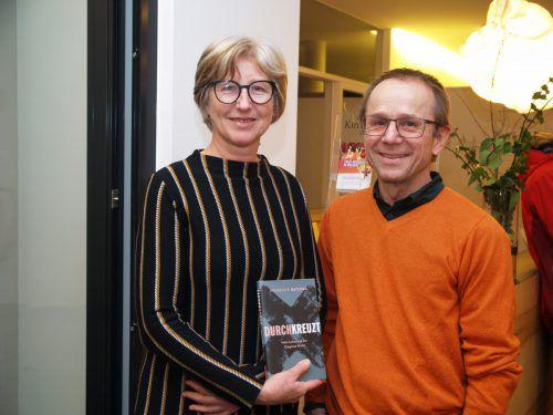 Lektorin Brunhilde Steger (Tyrolia Verlag) und Reinhard Maier.