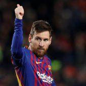 Unglaulicher Messi schreibt Geschichte