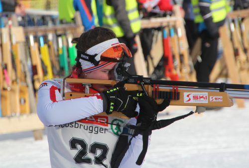 Luisa Felder wurde zweifache ÖSV-Unter-15-Vizemeisterin.WSV Schoppernau