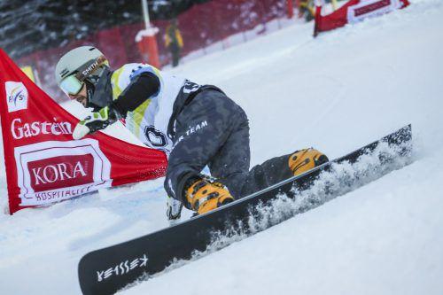 Lukas Mathies fuhr beim Rennen in Bad Gastein auf Platz vier.gepa