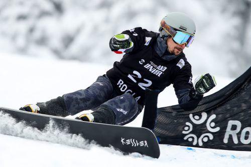 Lukas Mathies muss im Slalom vor der WM in die Qualifikation. gepa