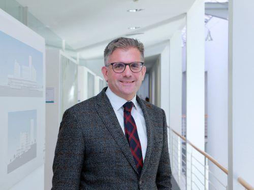 Mag. Dr. Andreas Stieger leitet das Personalmanagement.LKH Vorarlberg