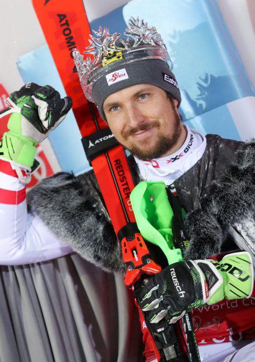 Marcel Hirscher fährt beim Klassiker in Zagreb um seinen 30. Sieg im Torlauf-Weltcup. Gepa