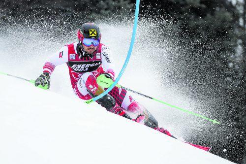 Marcel Hirscher fuhr in Zagreb zum 64. Weltcupsieg, hat zehn der jüngsten zwölf Slaloms gewonnen.gepa