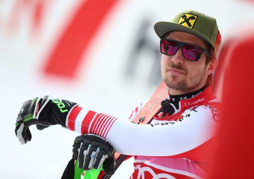 """Marcel Hirscher hadert nach dem verpatzten ersten Durchgang im Slalom von Wengen mit sich selbst: """"Es war mein Fehler.""""gepa"""