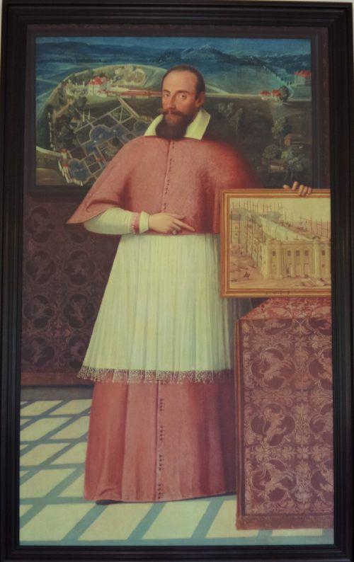 Markus Sittikus von Hohenems auf einem Gemälde. KK Hohenems