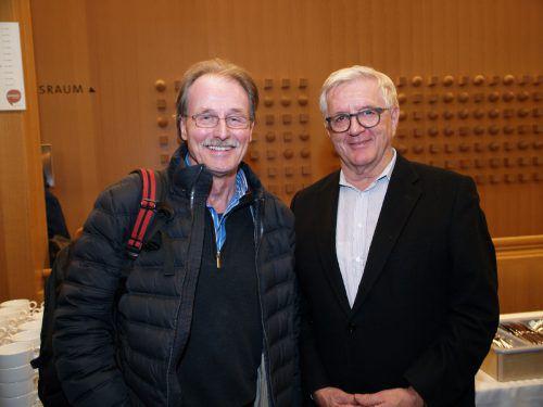 Martin Mittendorfer und Franz Abbrederis nahmen ebenfalls an der Feier teil.