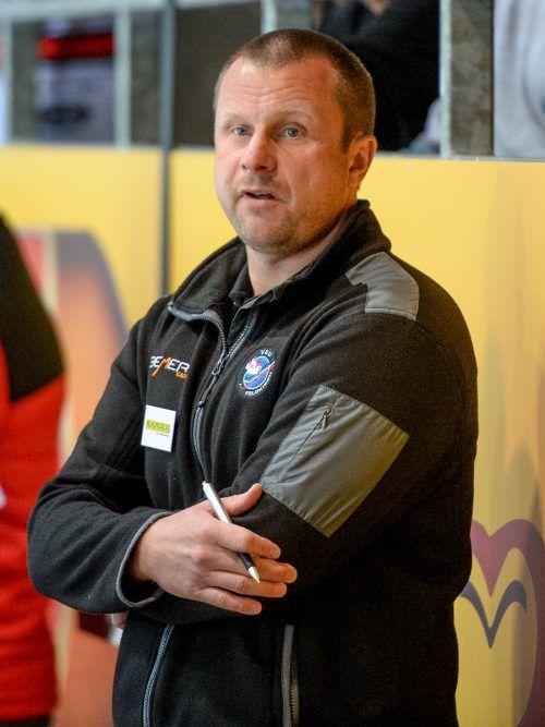 Michael Lampert arbeitet bei der VEU Feldkirch auf Hochtouren, um eine Teilnahme an der Erste Bank Liga möglich zu machen. gepa
