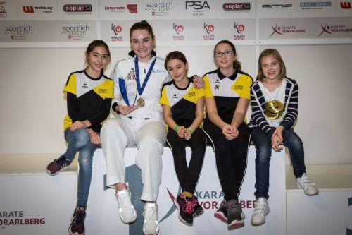 Mit dem Sieg beim Championscup 2019 in Hard liefert Marijana Maksimovic eine tolle Talentprobe ab. Karate Hofsteig