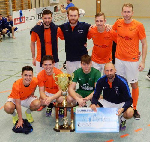 Mit dem Vizetitel startet der SC Admira erfolgreich ins neue Fußballjahr.cth