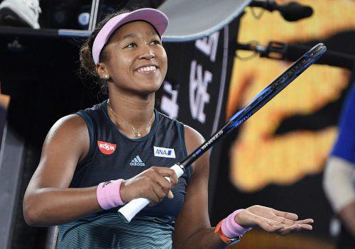 Mit einem Finalsieg würde Naomi Osaka Platz eins im WTA-Ranking übernehmen.AFP