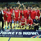 Österreichs Handballer mit Sieg im Continental-Cup