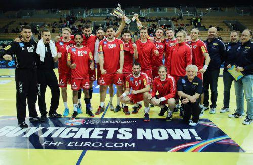 Mit zwei Siegen in zwei Spielen fährt Österreichs Herren-Handballmannschaft zur WM.Gepa