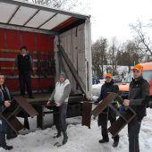Gebrüder Weiss und Hotel Mercure unterstützen Hilfsprojekt Elijah
