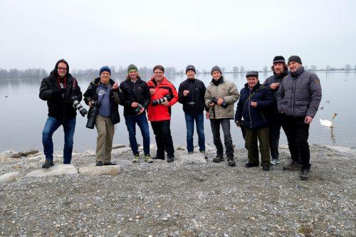Mitglieder des Fotoclubs FT Digital Wolfurt trafen sich zum Workshop. fotoclub