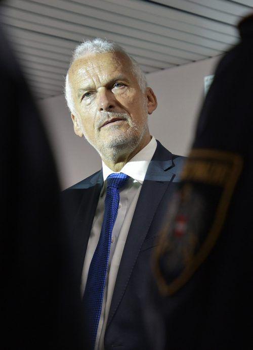 Moser erinnerte den Innenminister an das rechtsstaatliche Prinzip. APA