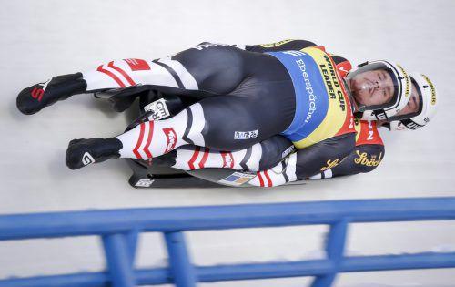 Nach EM-Silber 2017 haben die Olympia-Vierten Thomas Steu und sein Tiroler Partner Lorenz Koller im Doppelsitzer die erste WM-Medaille in der Eliteklasse im Visier.???