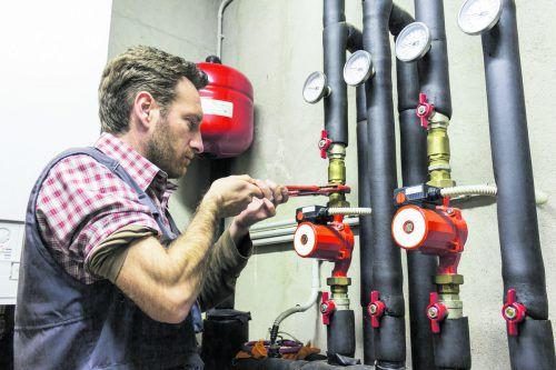 Neue Pumpen senken den Stromverbrauch.foto: Shutterstock