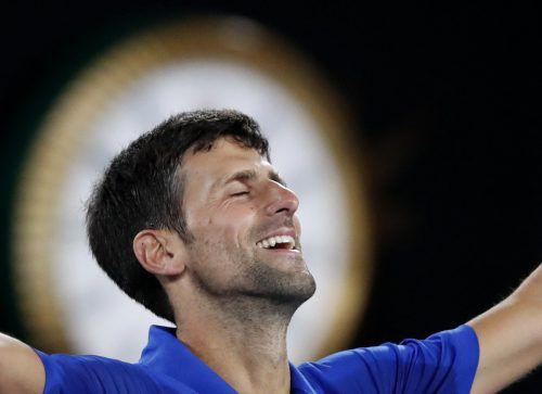Novak Djokovic hat mit einem Finalsieg über Rafael Nadal zum siebten Mal die Australian Open gewonnen und ist damit alleiniger Rekordsieger des Turniers.AFP