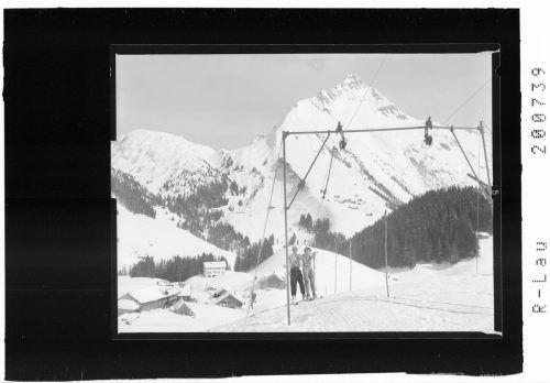 Per Schlepplift ging es noch 1956 auf den Berg.