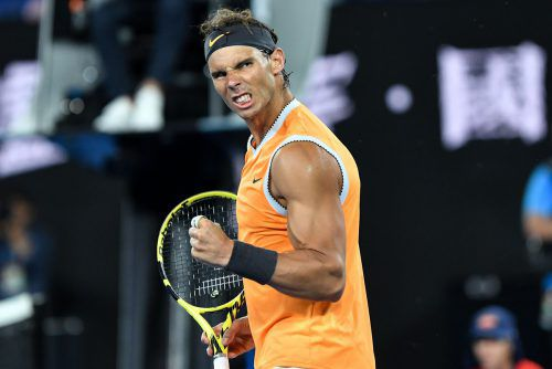 Rafael Nadal ist im Turnierverlauf weiter ohne Satzverlust.AFP