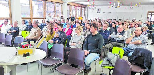 Reges Interesse herrschte bei der ersten Bürgerversammlung. Brigitte Finner