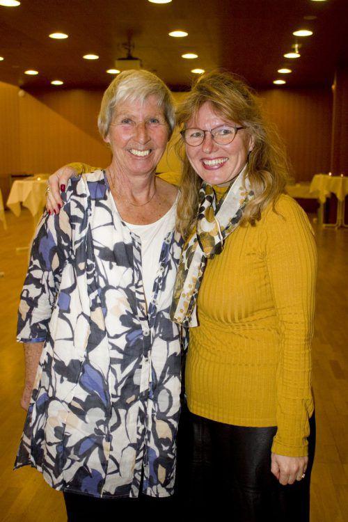Regionensprecherinnen Kiki Karu (l.) und Yvonne Böhler.