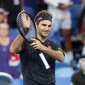 Federer freut sich auf Hopman-Cup-Finale