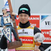 Gepflegte Skisprungqualität von Kasaya bis Kobayashi
