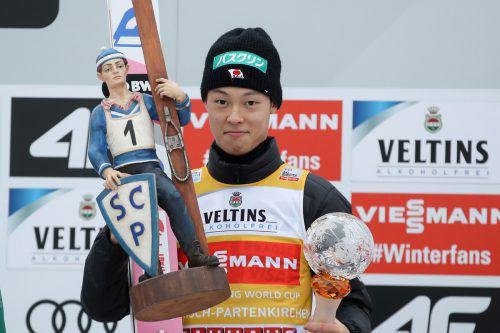 Ryoyu Kobayashi gewann sechs der neun Saisonspringen. GEPA