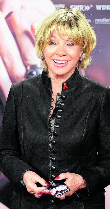Schauspielerin Judy Winter denkt auch mit 75 Jahren noch nicht an Ruhestand.
