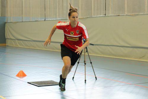 Schon gut in Schuss zeigte sich Bremen-Legionärin Sabrina Horvat.ÖFB