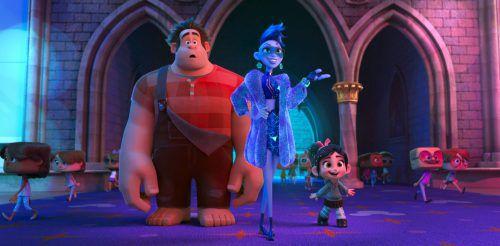 """Sechs Jahre nach """"Ralph reicht's"""" kommt mit """"Chaos im Netz"""" nun die Fortsetzung des Animationsfilms in die Kinos. Disney"""