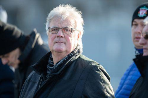 Seine Präsidentenkarriere ist zu Ende, dennoch behält Hubert Nagel die Austria (wie hier beim ersten Testspiel) im Visier.Sams
